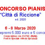 """XVIII CONCORSO DI ESECUZIONE MUSICALE """"CITTA' DI RICCIONE"""